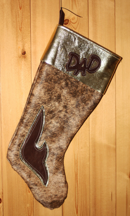 Western Christmas Stocking Patterns http://www.goetzleather.com/Home-Accessories.php